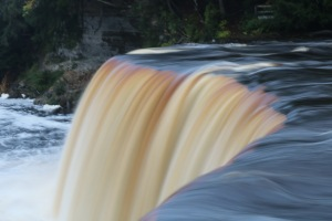 Photo of Tahquamenon Falls by Jeannie Dow